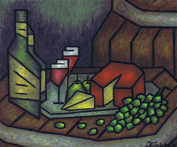 Still Life No 1 Poster featuring the painting Still Life No 1 by Kamil Swiatek