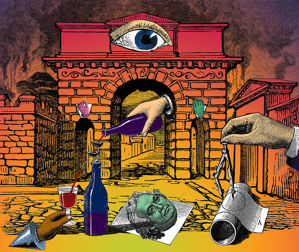 Herculaneum Poster featuring the digital art The Last Days Of Herculaneum by Eric Edelman