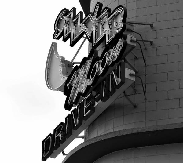 Fine Art Photography Poster featuring the photograph 1940s Drive In by David Lee Thompson