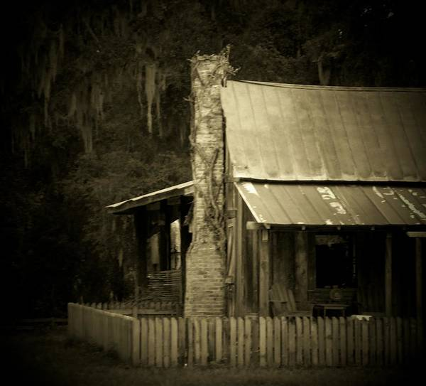Marsh Poster featuring the photograph Ole Marsh Homestead by Sheri McLeroy