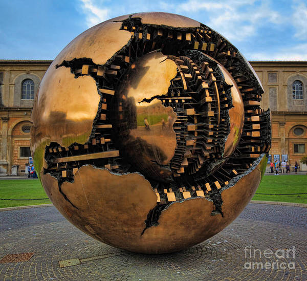 Europe Poster featuring the photograph Sphere Within Sphere by Inge Johnsson