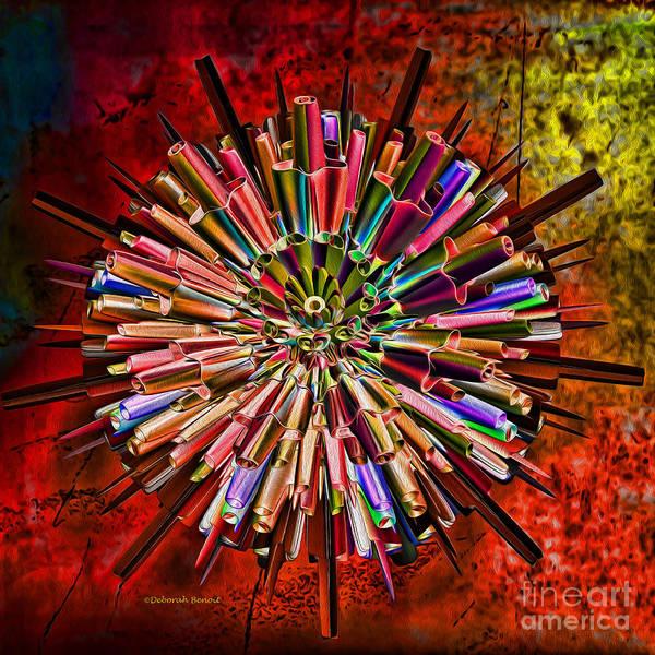 Ego Poster featuring the digital art Alter Ego by Deborah Benoit