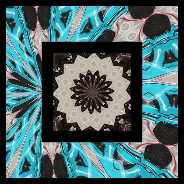 Kaleidoscope Poster featuring the photograph Graffiti - Reign V by Graffiti Girl