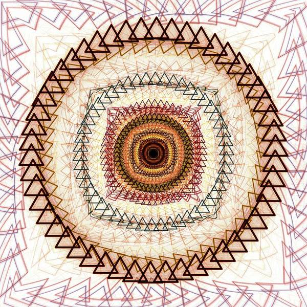 Interior Poster featuring the digital art Inner Purpose by Anastasiya Malakhova