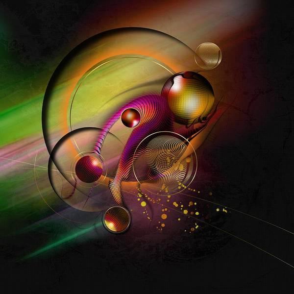 Universe Poster featuring the digital art Mene Teckel by Franziskus Pfleghart