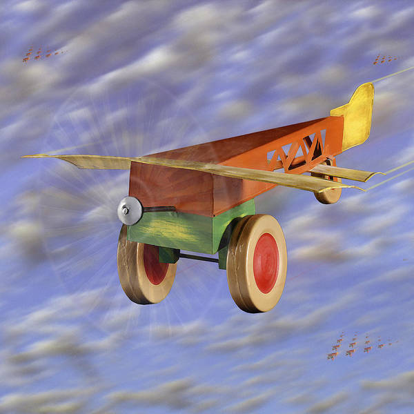 Toy Planes Poster featuring the photograph The 356th Toy Plane Squadron 2 by Mike McGlothlen
