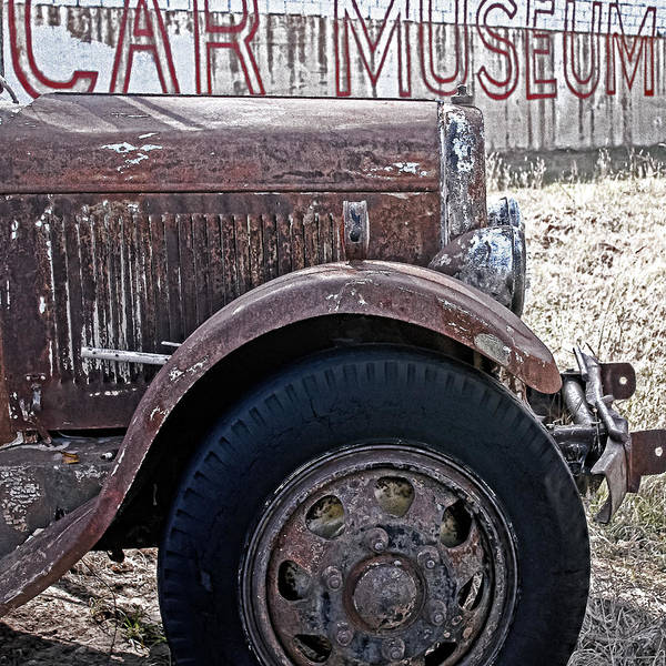 Cars Poster featuring the photograph Car Museum by Tony Grider
