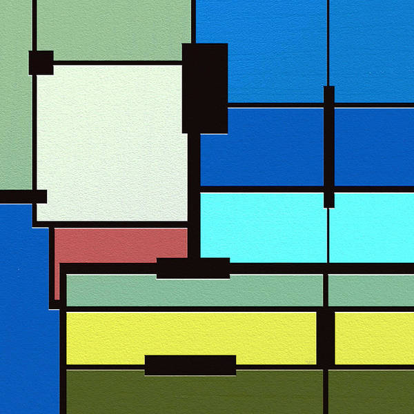 Abstract Art Poster featuring the painting Obsession by Ely Arsha