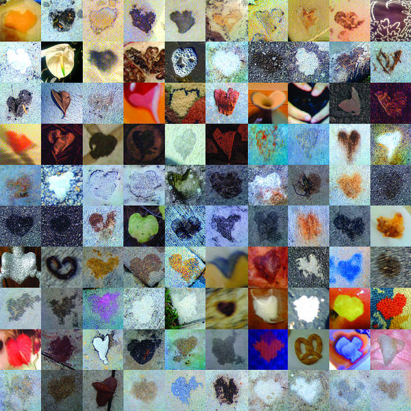 Heart Images Poster featuring the photograph Eight Hundred Series by Boy Sees Hearts