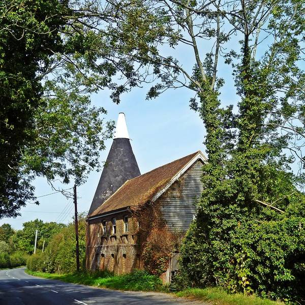 Oast House Poster featuring the photograph Oast House by Sharon Lisa Clarke