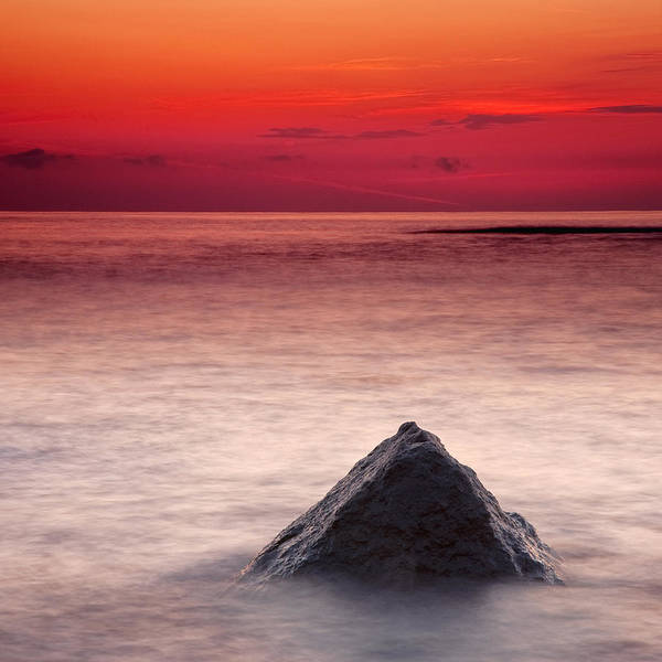 Sea Poster featuring the photograph Shark Fin by Evgeni Dinev