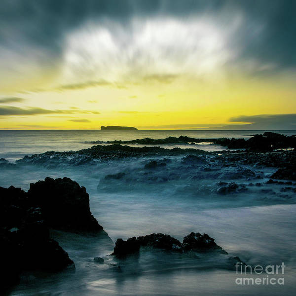 The Infinite Spirit Tranquil Island Of Twilight Poster featuring the photograph The Infinite Spirit Tranquil Island Of Twilight Maui Hawaii by Sharon Mau