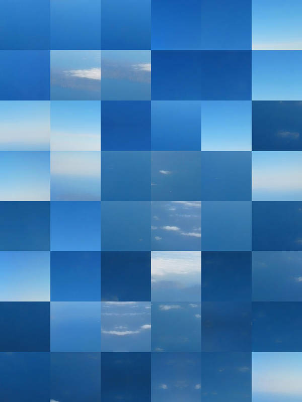 Clouds Poster featuring the digital art The Window Seat by Wendy J St Christopher