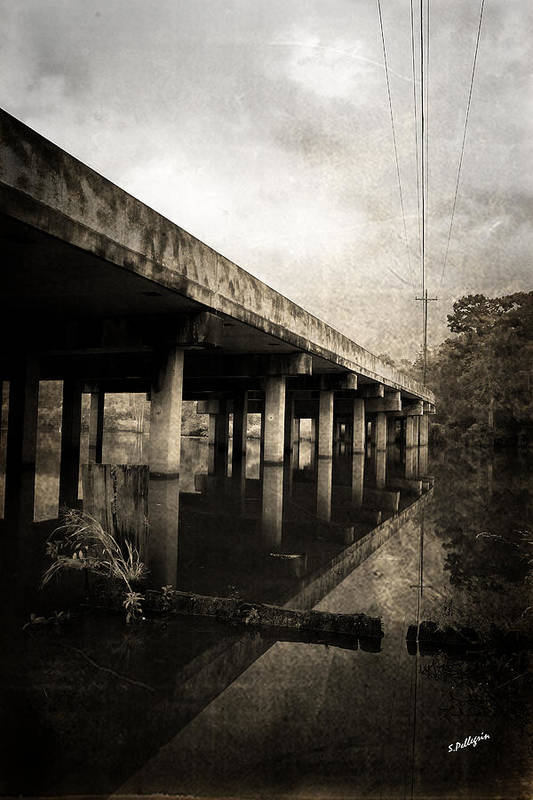 Water Poster featuring the photograph Bay View Bridge by Scott Pellegrin