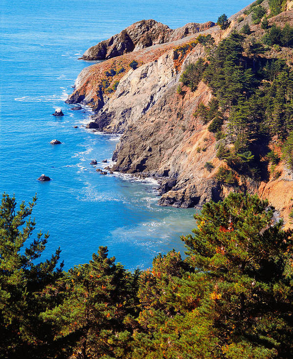 Photograph Poster featuring the photograph Kirby Cove San Francisco Bay California by Utah Images