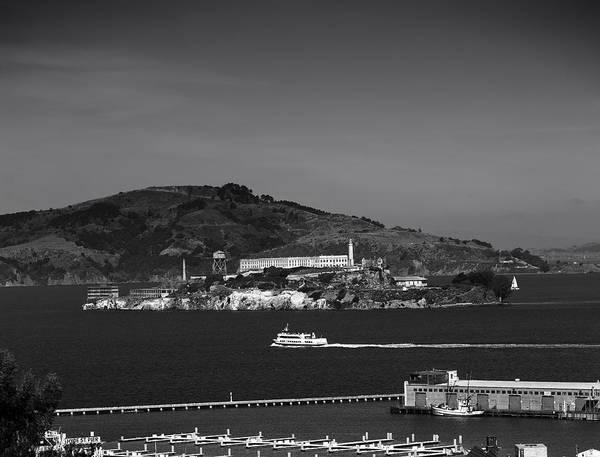 Alcatraz Poster featuring the photograph Alcatraz Island by Mountain Dreams