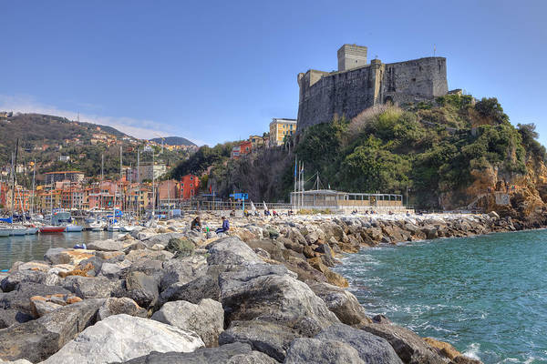 Lerici Poster featuring the photograph Lerici by Joana Kruse