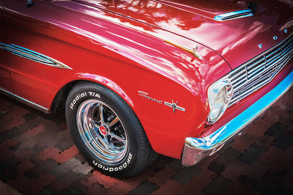 1963 Ford Falcon Sprint Poster featuring the photograph 1963 Ford Falcon Sprint Convertible by Rich Franco