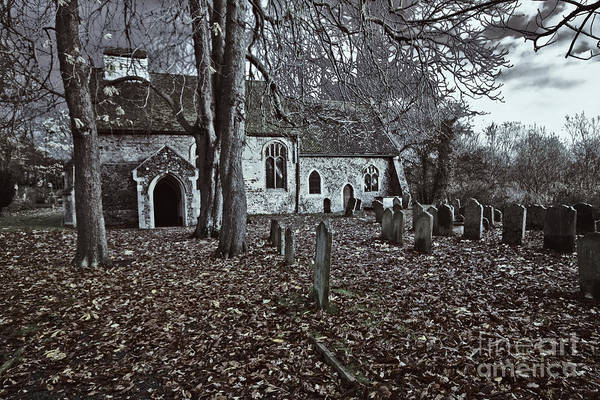 St Margaret Of Antiochs Poster featuring the photograph St Margaret Of Antiochs Church Linstead by Darren Burroughs