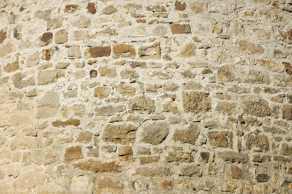 Stone Wall Poster featuring the photograph Stone Wall by Matthias Hauser