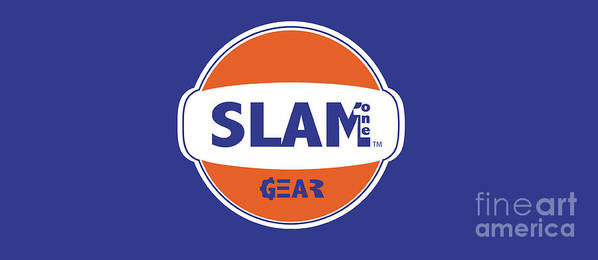 Slam One Gear Poster featuring the digital art Slam One Gear by James Eye