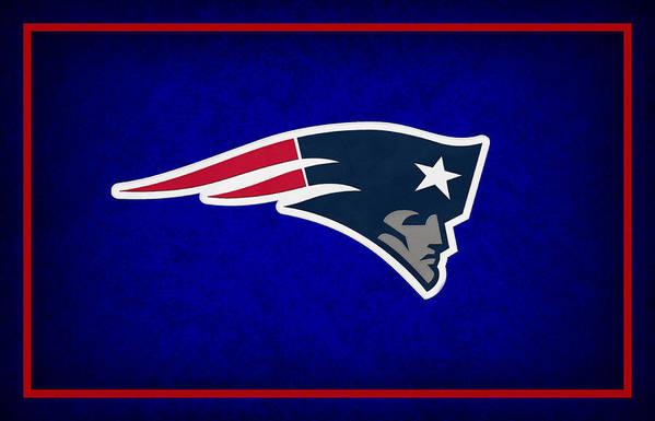 Patriots Poster featuring the photograph New England Patriots by Joe Hamilton