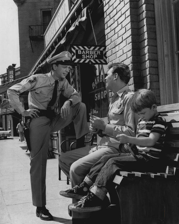 classic Poster featuring the photograph Andy Griffith by Retro Images Archive