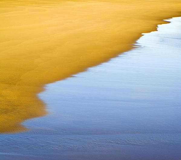Abstract Seascape Poster featuring the photograph Abstract Seascape by Frank Tschakert