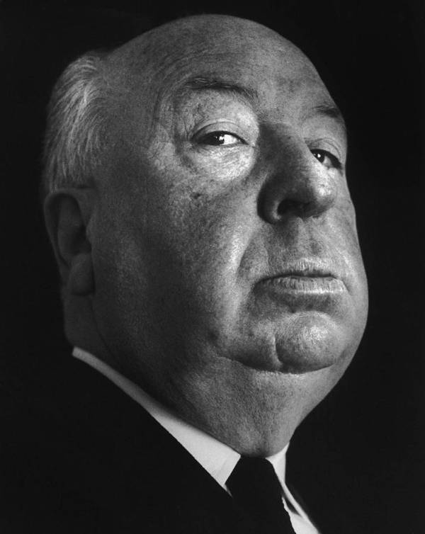 Alfred Hitchcock Poster featuring the digital art Alfred Hitchcock by Studio Photo