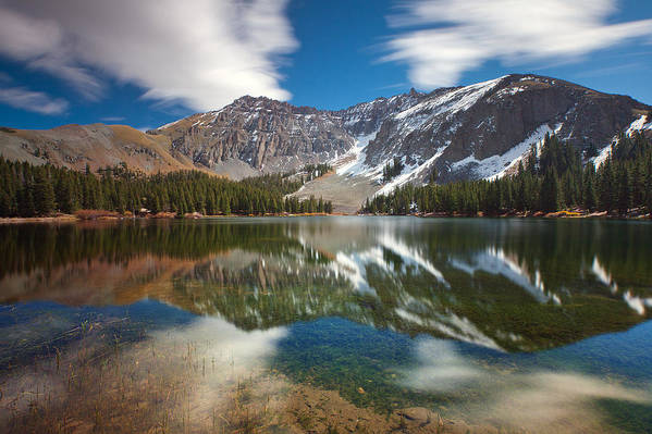 Lake Poster featuring the photograph Alta Lakes by Darren White