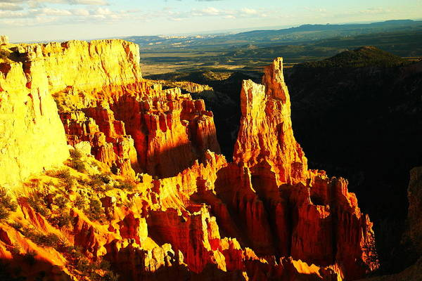 Southwestern Art Poster featuring the photograph An October View by Jeff Swan