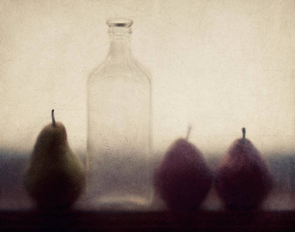 Pear Poster featuring the photograph Autumn Light by Amy Weiss