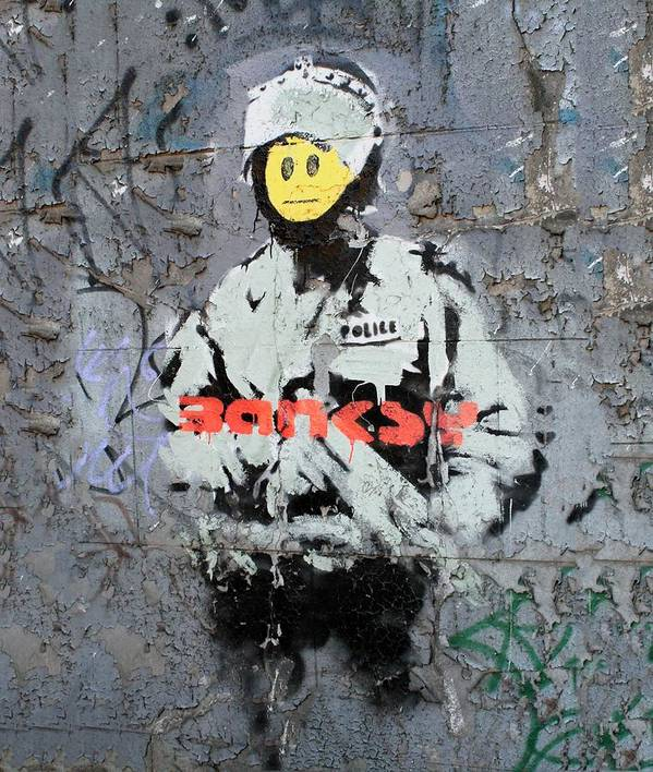 Tv Poster featuring the photograph Banksy by A Rey