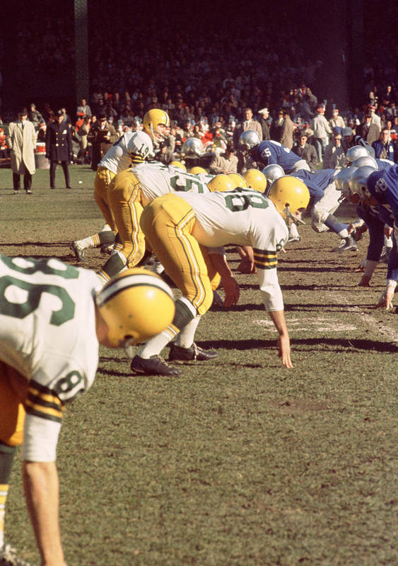 Marvin Newman Poster featuring the photograph Bart Starr by Retro Images Archive