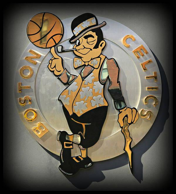 Boston Poster featuring the photograph Boston Celtics by Stephen Stookey