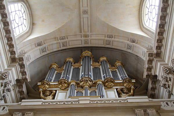 Paris Poster featuring the photograph Chapel At Les Invalides - Paris France - 01133 by DC Photographer