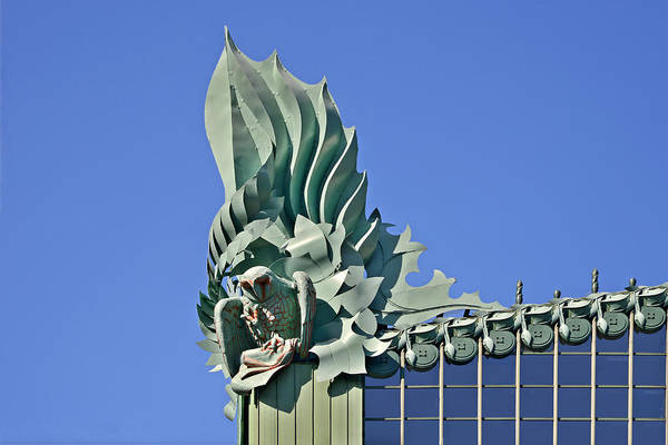 Harold Poster featuring the photograph Chicago - Harold Washington Library by Christine Till