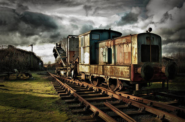 Train Poster featuring the photograph Choo Choo by Jason Green