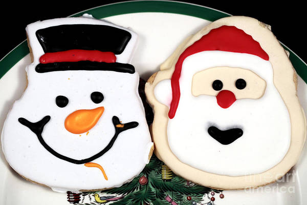 Christmas Cookies Poster featuring the photograph Christmas Cookies by John Rizzuto