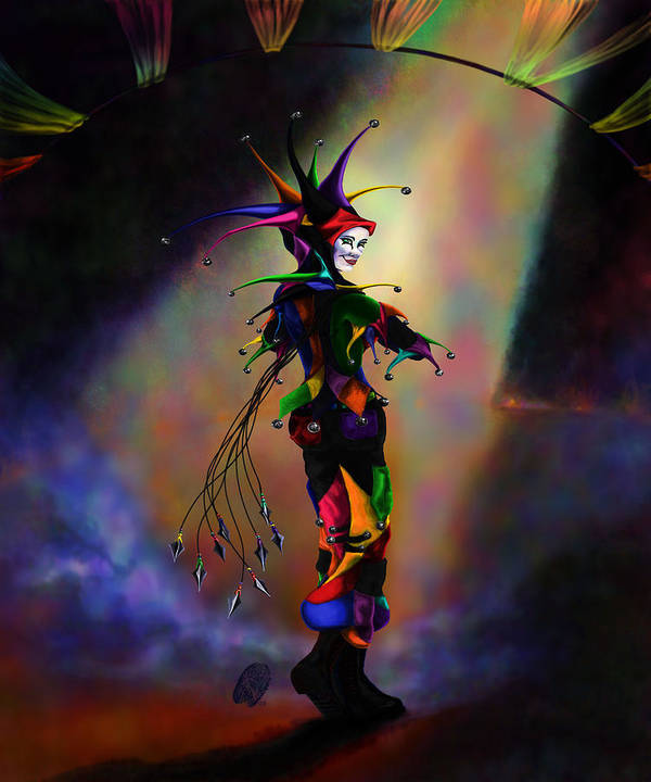 Icp Poster featuring the digital art Cat O Nine Tails by Kd Neeley