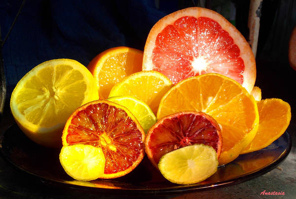 Citrus Fruit Poster featuring the photograph Citrus Season by Anastasia Savage Ealy