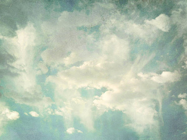 Brett Poster featuring the digital art Cloud Series 1 Of 6 by Brett Pfister