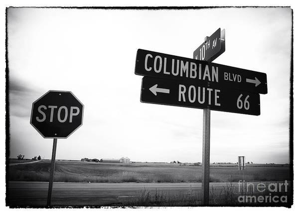 Columbian Boulevard Poster featuring the photograph Columbian Boulevard by John Rizzuto