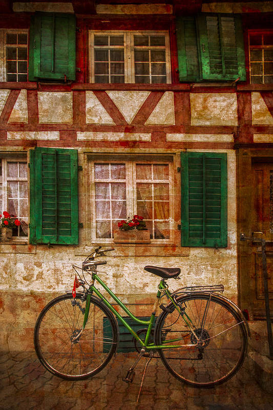 Austria Poster featuring the photograph Country Charm by Debra and Dave Vanderlaan