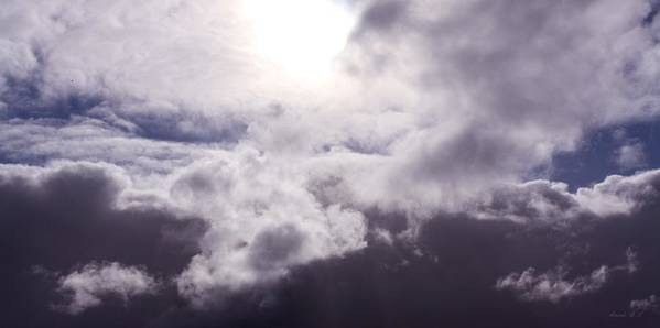 Swirling Clouds Poster featuring the photograph Crucible by Amanda Lee Tzafrir
