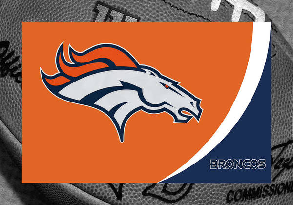Broncos Poster featuring the photograph Denver Broncos by Joe Hamilton