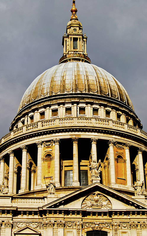 Britain Poster featuring the photograph Dome Of St. Paul's Cathedral by Christi Kraft