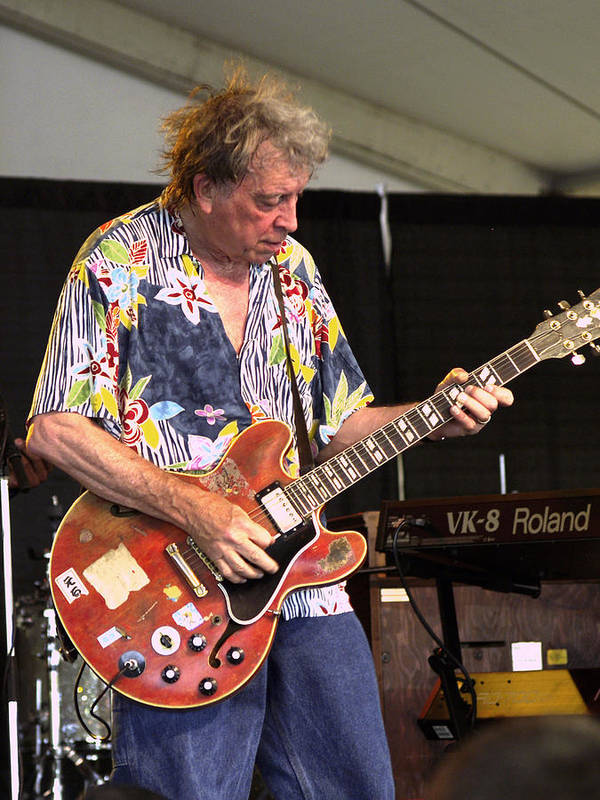 Guitar Player Poster featuring the photograph Elvin Bishop by Bill Gallagher