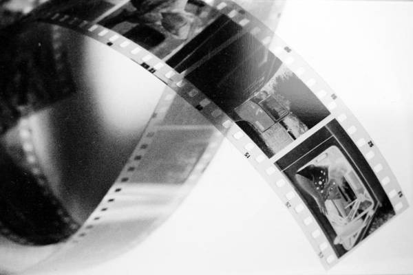 Slide Poster featuring the photograph Film Strip by Toppart Sweden