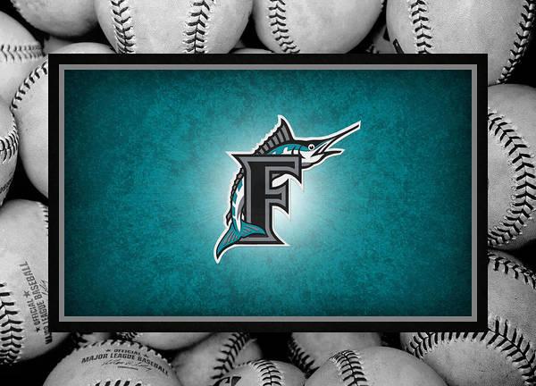 Marlins Poster featuring the photograph Florida Marlins by Joe Hamilton